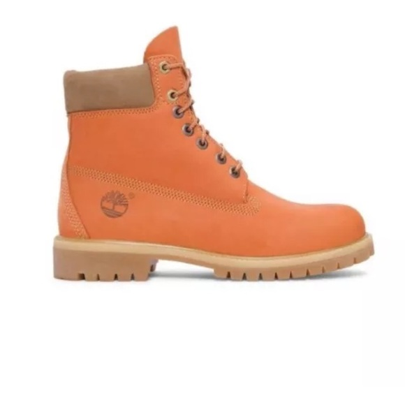 TIMBERLAND MENS 6 INCH PREMIUM NUBUCK LEATHER BOOT NWT